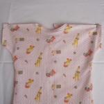 baby nighties cotton seersucker print